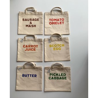 R&D.M.Co-  square tote bag(6 style)