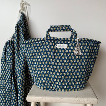 R&D.M.Co-  nursery print  marche bag