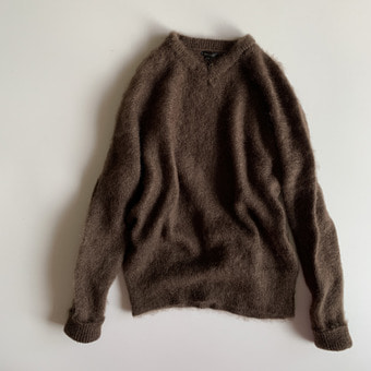 R&D.M.Co-  mohair sweater