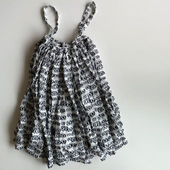 R&D.M.Co-  flower cut jacquard skirt(30%)