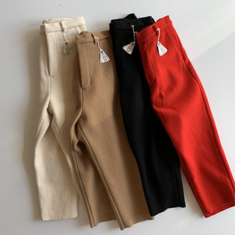 R&D.M.Co-  wool felt pants(30%)