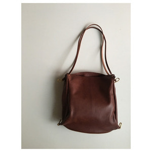 style craft bag(dark brown)