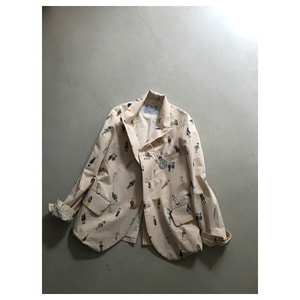 R&D.M.Co- greatmans cotton jacket