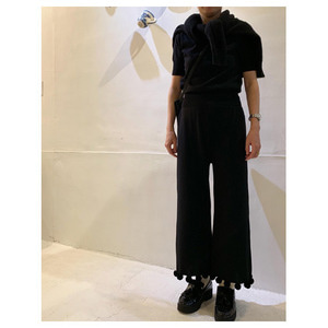 R&D.M.Co-  cotton cashmere bon bon pants