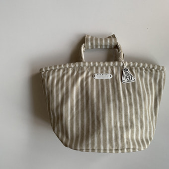 R&D.M.Co-  french strip marche bag