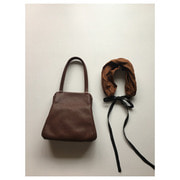 style craft bag B(dark brown)재입고
