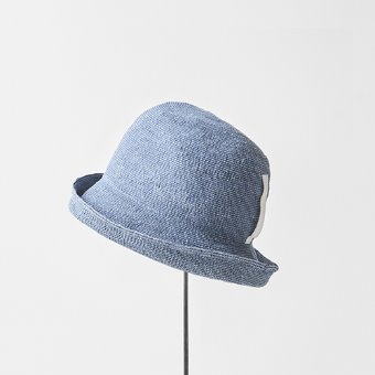 mature ha. denim hat(wash blue)