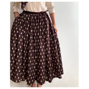 R&D.M.Co- artichoke gather skirt(버건디)